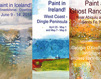 Travel and Painting Workshops 2019