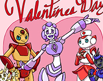 Valentines Day Robots!