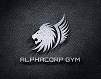 Alphacorp Gym - Identidad Gráfica