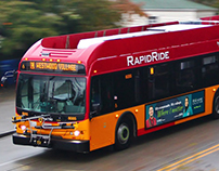 Highline College - Bus Ads