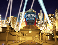 Pride of 2016 Ident for Filmax Tv