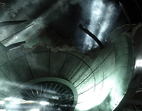 X-FILES' ALIEN SPACESHIP
