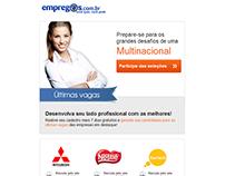 E-mails Marketing para a empresa Empregos.com.br