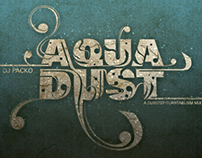 AquaDust // CD Album Cover