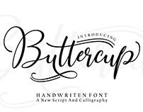 Butercup Script-Font