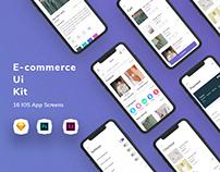 E- commerce UI Kit