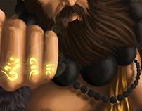 Illustration Monk – Diablo III