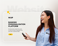 W.UP website redesign