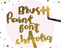 Chaotiq Modern Paint Brush Font