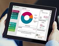 Redesign of BNP's saving plan app for iPad