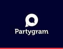 Partygram | Branding - UI Design