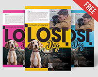 Free Lost Dog Flyer Template