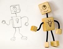 Robot toy concept: Mono