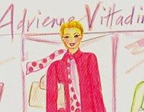 Adrienne Vittadini Palm Beach Store Opening