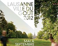 LAUSANNE - VILLE DU GOÛT 2012