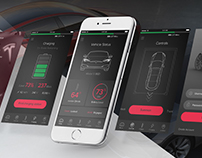 OneTouch. Reimagining the Tesla Mobile Experience.