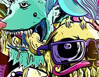 Ilustración Salon Visual Bacanika 2014