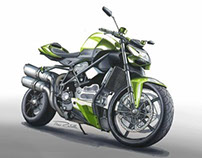 Motorcycle Rendering