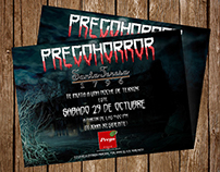 Invitations for PregoHorror