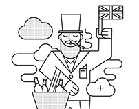 Magazine's illustration