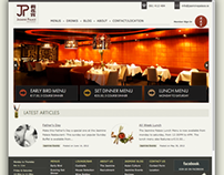 Website Design & Development of Jasminepalace.ie