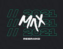Max // Rebrand 2020
