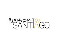 Woman to Santiago. Camino de Santiago