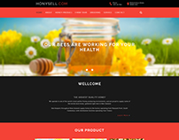Honey New Psd Template