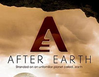 Will Smith/Jaden Smith - After Earth Movie Poster