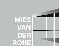 Anniversary Poster: Mies Van Der Rohe