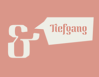 Tiefgang // modular font