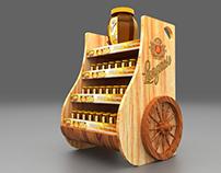 Langnese Honey POS Display