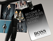 HUGO BOSS Runway Model Contest