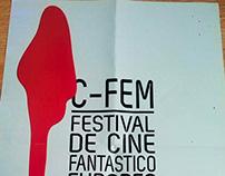 Cartel y folleto C-Fem