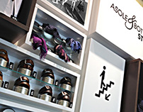 Wall units exhibitors - Asole e Bottoni store in rome