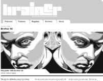 Brainer Magazine - Brother Ali - Oct '09