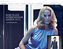 HUGO BOSS Website