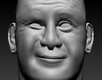 ZBrush Self Portrait Unfinished