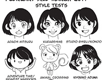 Style Tests 2014