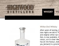 Highwood Distillers Website