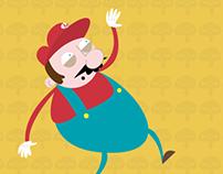 Mario Bros Champiñón