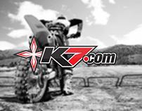k7 motocross branding