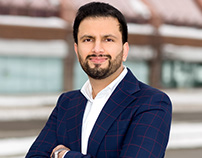 Outdoor Business Portraits in Mississauga