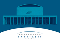 AUDITORIUM CAPITALIS ROMA, brand identity