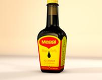 Maggi aroma bottle