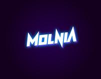 Molnia - Display typeface