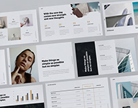 SHIFT Minimal & Creative Presentation Builder