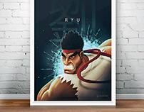 Streetfighter 2's Ryu