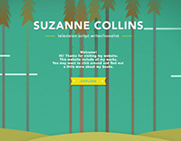 Redesign Website for Suzanne Collins