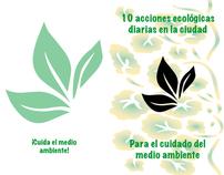 Carpeta Enrollada (10 acciones ecológicas en la ciudad)